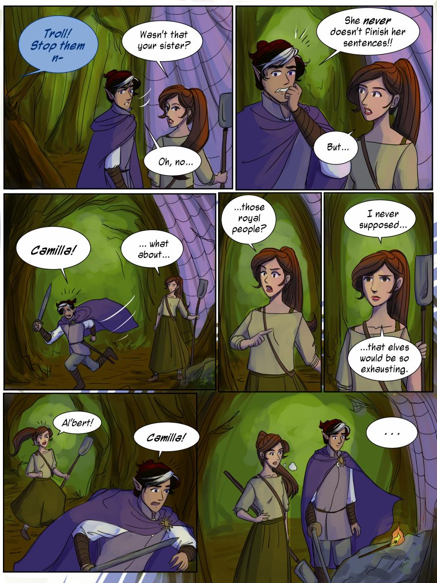 Camilla's Sentence