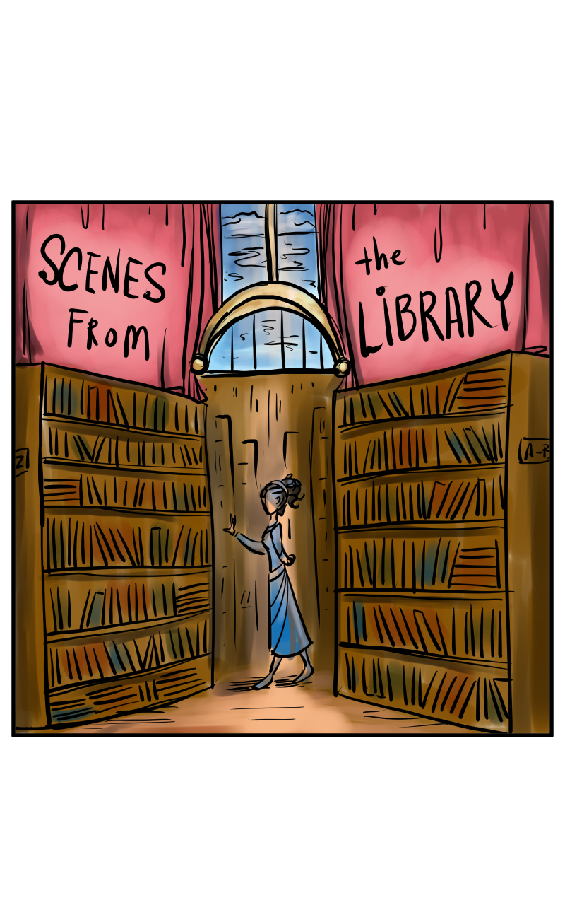 Webtoon: Scenes From the Library
